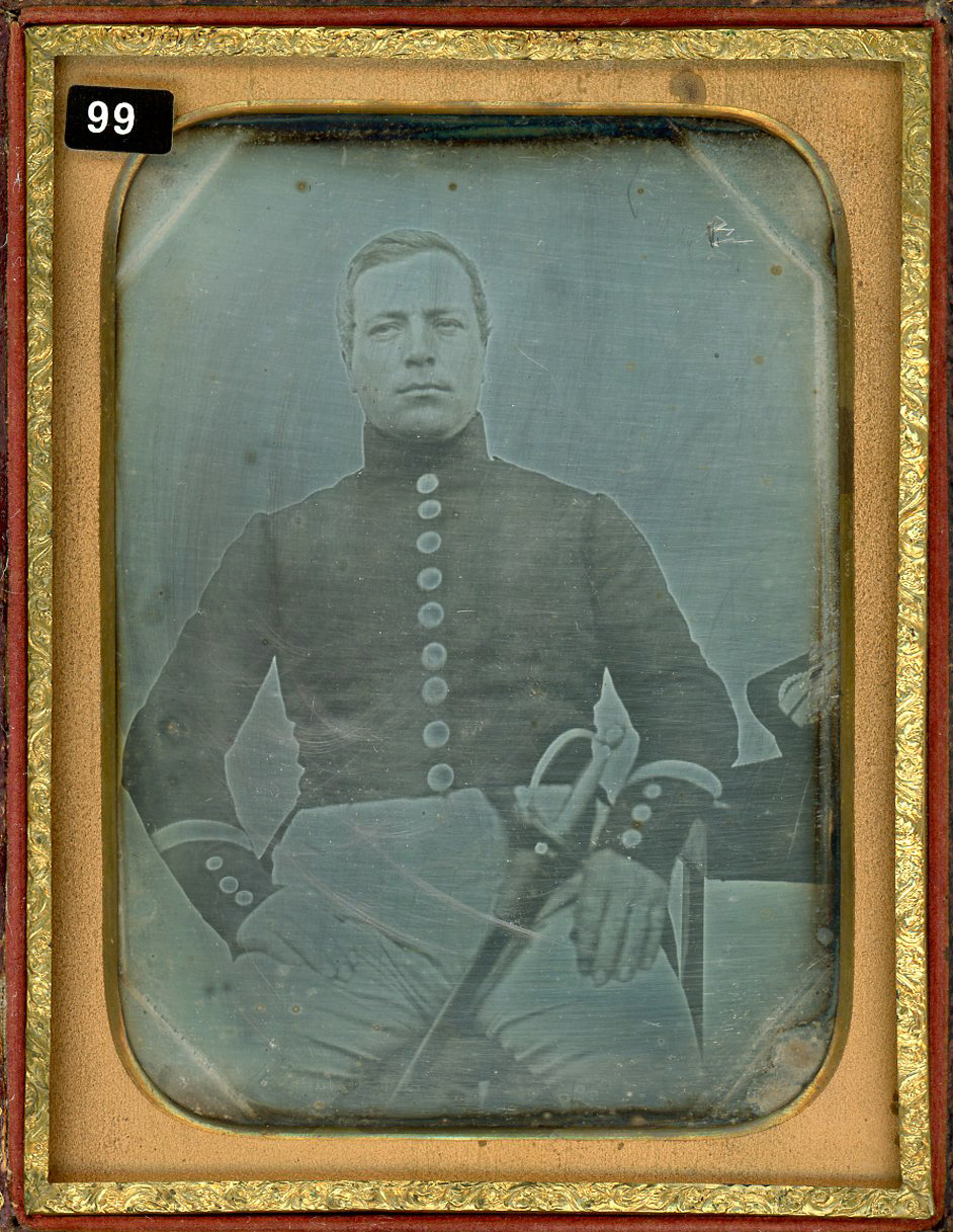 19 Ambrotype of Young Boy Dressed in Uniform